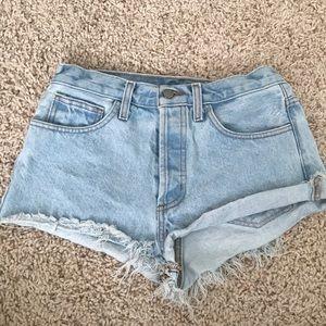 Brandy Melville Vintage Denim Shorts